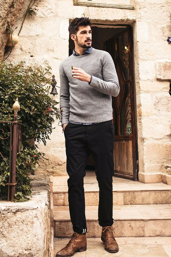 What to Wear With Black Jeans » Mens Guide