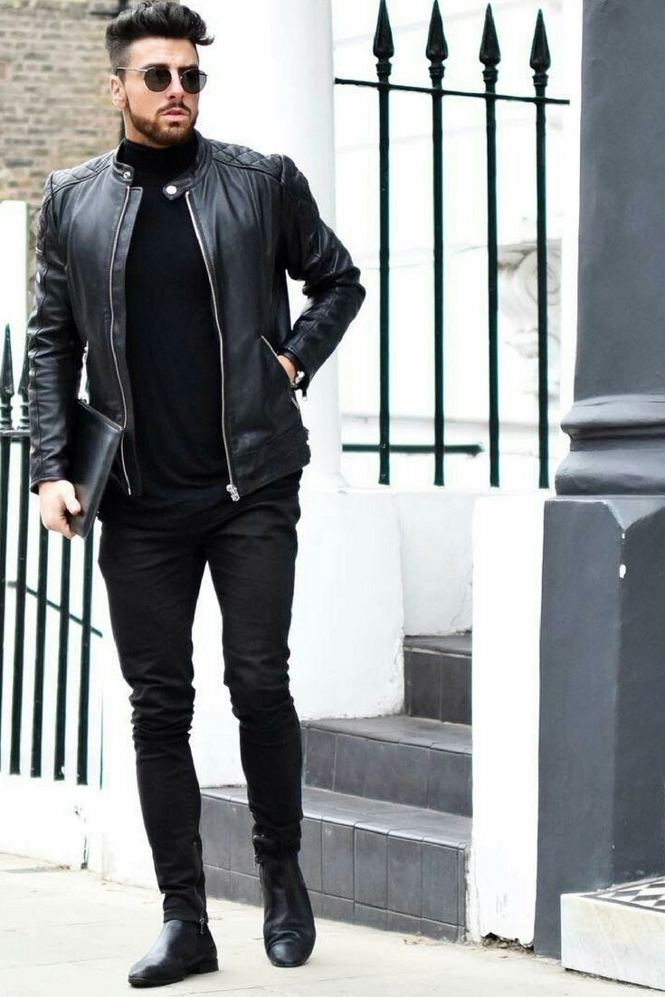what to wear with black jeans » men's guide