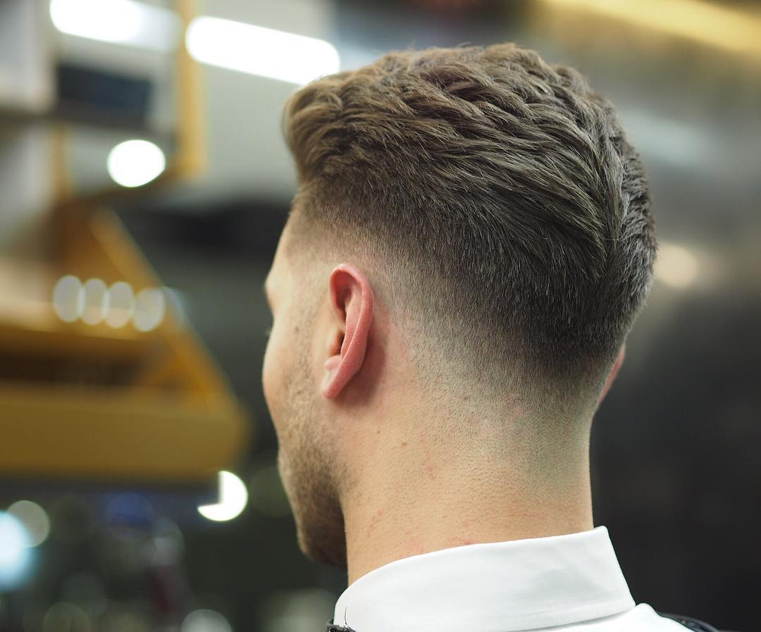Fade Hair Styles: Low Top Fade Haircuts For Men » Men's Guide