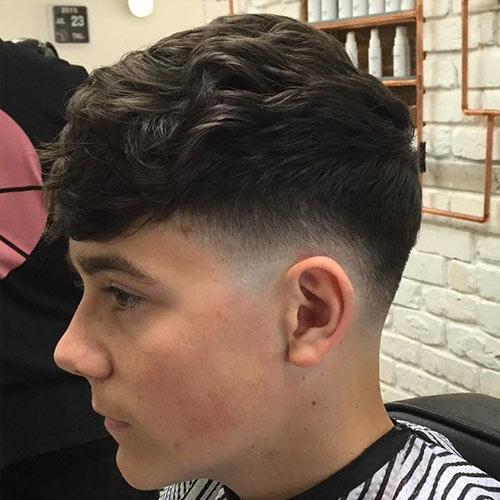What Is A Tapered Fade Haircut It S Types Examples Men S Guide