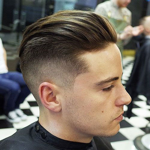 Slicked Back Undercut Hairstyles For Men With Class 187 Men