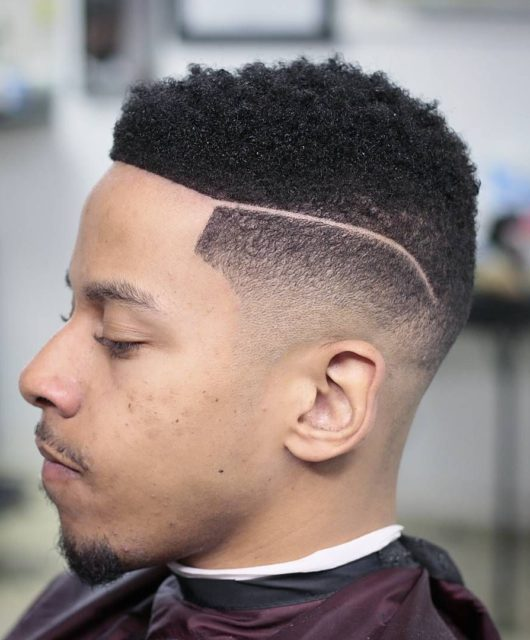 Bald Fade Haircut