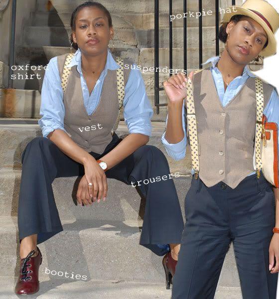 suspenders with vest