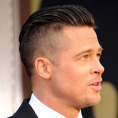 men's slicked back hair