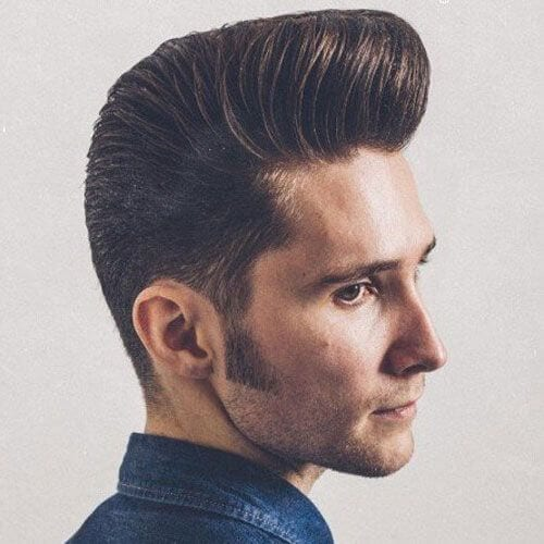Classic Pompadour hairstyles