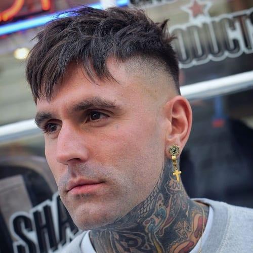 fringe hairstyle men