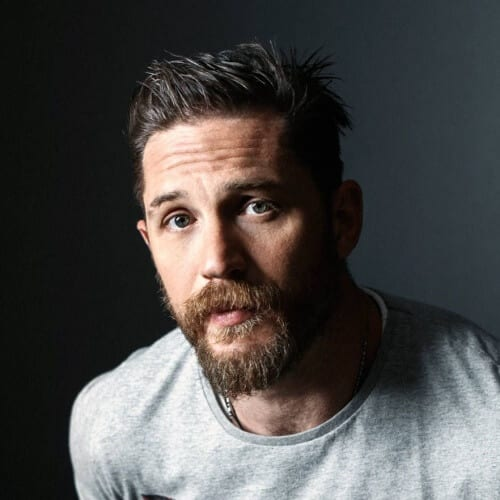 Tom Hardy Hairstyles